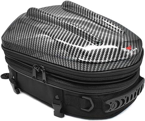 Motorrad Hecktasche Tankrucksack Wasserdichte Motorradsitz Erweiterbare Motorrad Gepäcktasche Motorrad Helmtasche Rucksack Handtasche 11 0 13 0 10 2 Zoll Küche Haushalt