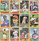 1987 Topps Baseball Complete Set (792 Cards) (Barry Bonds) (Will Clark) (Bo Jackson) (Rookie Cards)