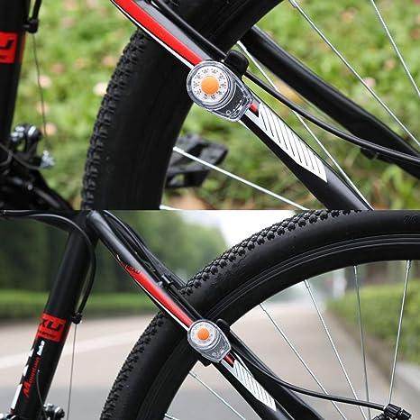 Luces traseras de Color ZEYUE. Luces traseras para Bicicleta con ...