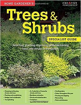 Book Home Gardeners Trees and Shrubs