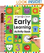 #10: Wipe Clean: Early Learning Activity Book (Wipe Clean Early Learning Activity Books)