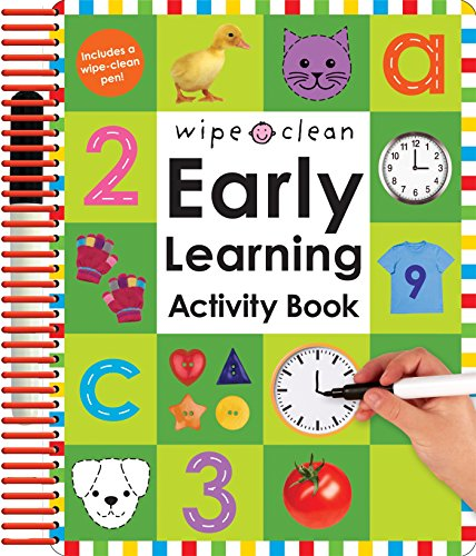 Wipe Clean: Early Learning Activity Book