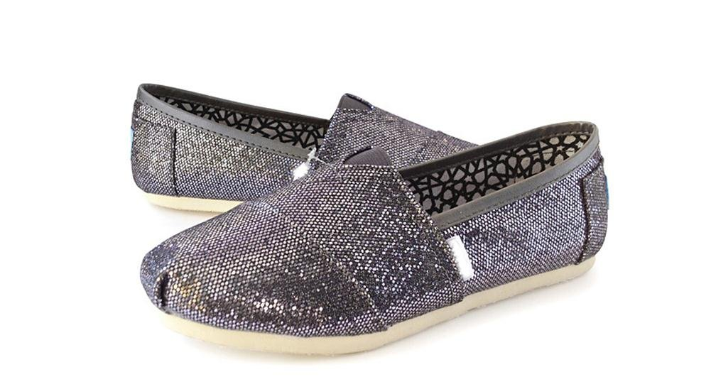 Playworld Womens Classic Sequin Slip On Loafers Shoes Ballerina Ballet Flats Loafers On B01BS50320 7.5 B(M) US|Grey c944ea