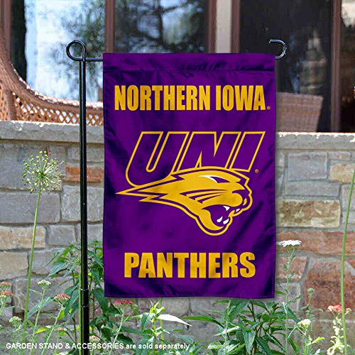 College Flags and Banners Co. Northern Iowa Panthers Garden Flag