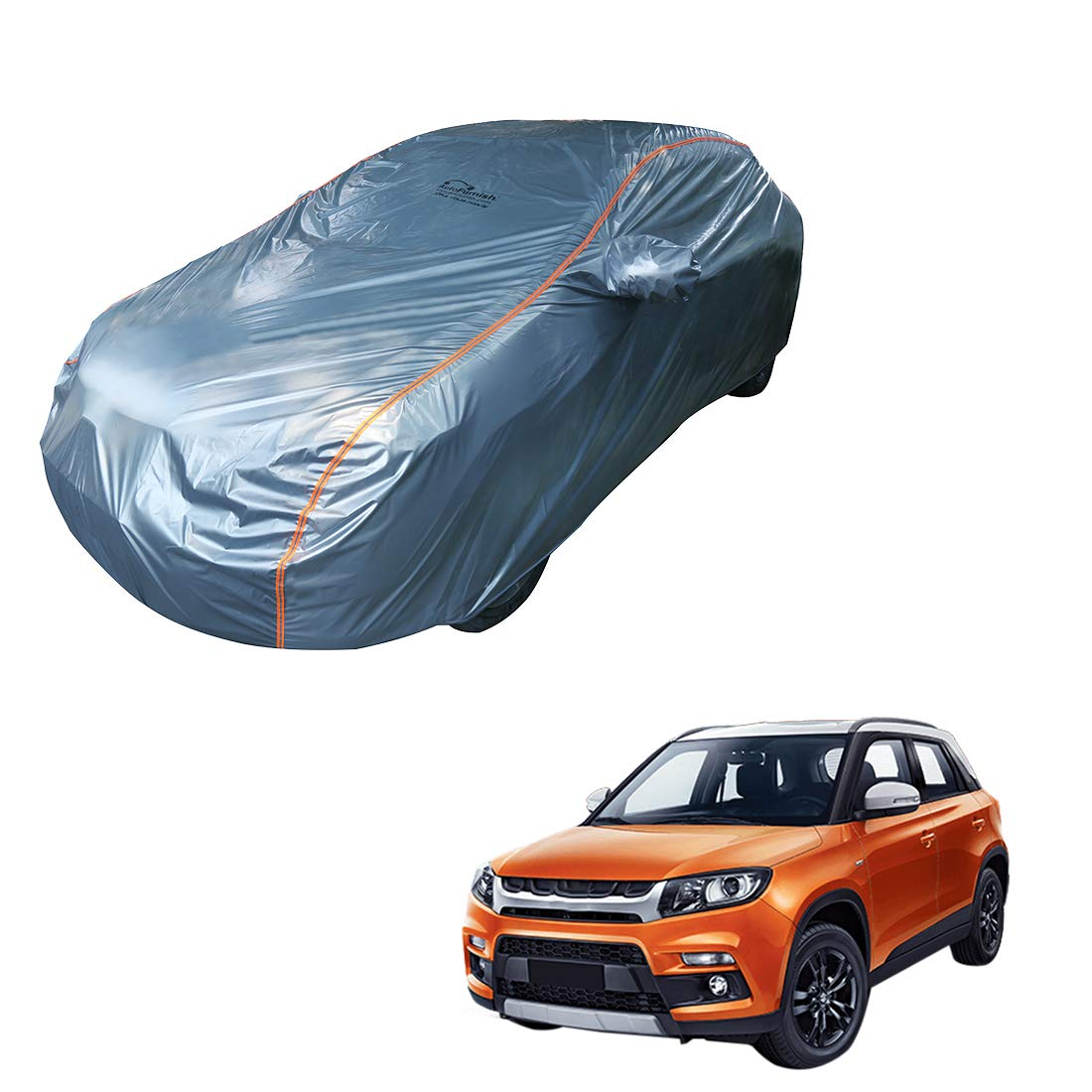 S- tech automotive Vitara All Models Seat Covers//Protectors 1+1 | Water Resistant Front Grey Heavy Duty