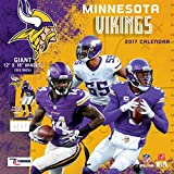 Turner Licensing Sport 2017 Minnesota Vikings Team Wall Calendar, 12''X12'' (17998011916)