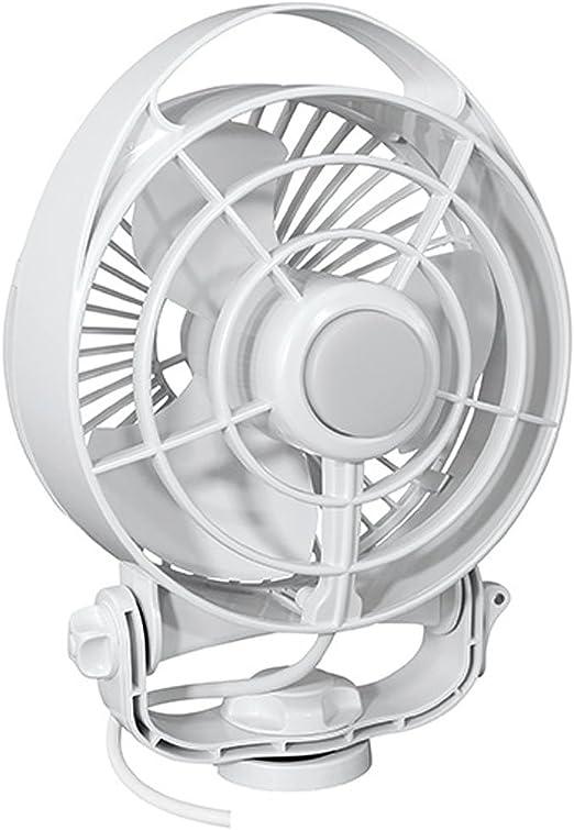 Caframo Maestro 12v 3 Speed 6 Marine Fan W Led Light White 7482cawbx Home Kitchen Amazon Com
