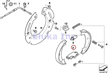 BMW Genuine Fuel Injection Injector Clip Securing Clamp E39 E46 E53 E60 E60N E