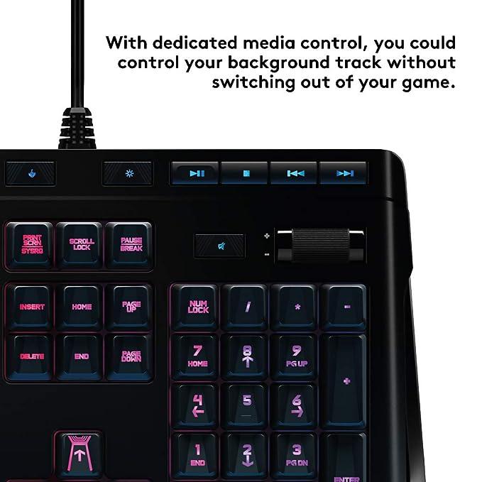 Logitech G910 - Teclado mecánico RGB para Gaming Orion Spectrum (distribución de Teclado inglés RU): Amazon.es: Informática