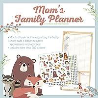 Mom's Family Planner 2018 Wall Calendar