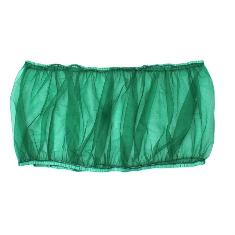 Verde UKCOCO Jaula Protectora Guard Jaulas Accesorios p/ájaro Malla de semillas evita que el alpiste caiga al suelo
