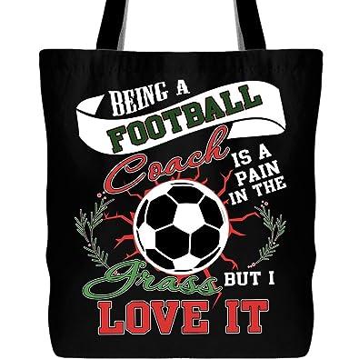 Amazon.com: Ser una bolsa de entrenador de fútbol con correa ...