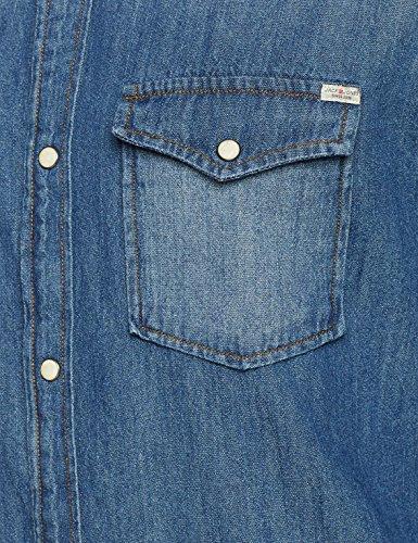 Blue dark Jones Jack Blu s Shirt amp; Jjesheridan slim Denim In Jeans Fit Uomo L Camicia Pw7wApxq