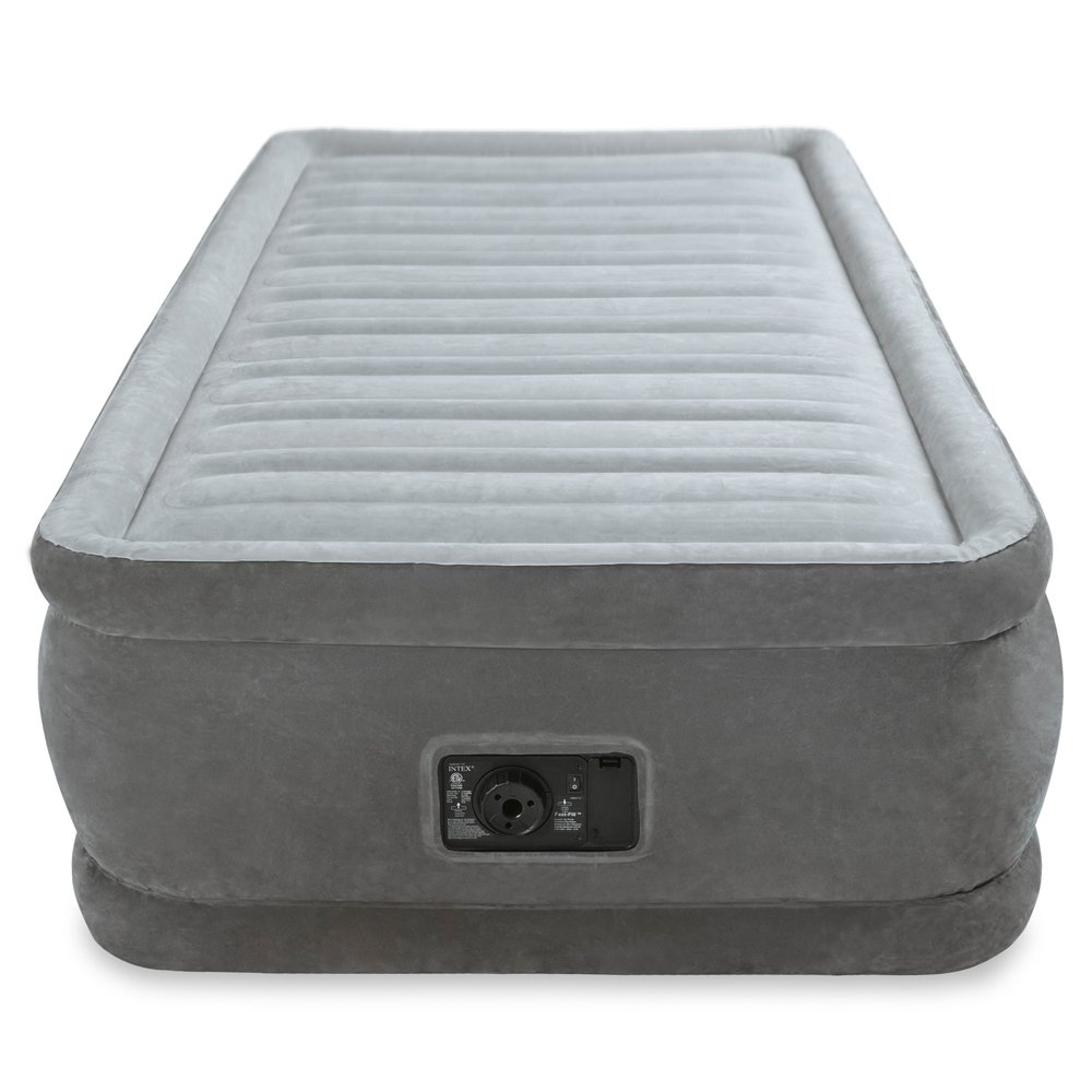 """Twin Size Air Bed Mattress 18"""" With Built-In Electric Pump ..."""