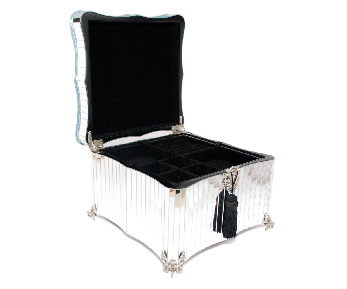 Glamour Mirrored Jewelry Box