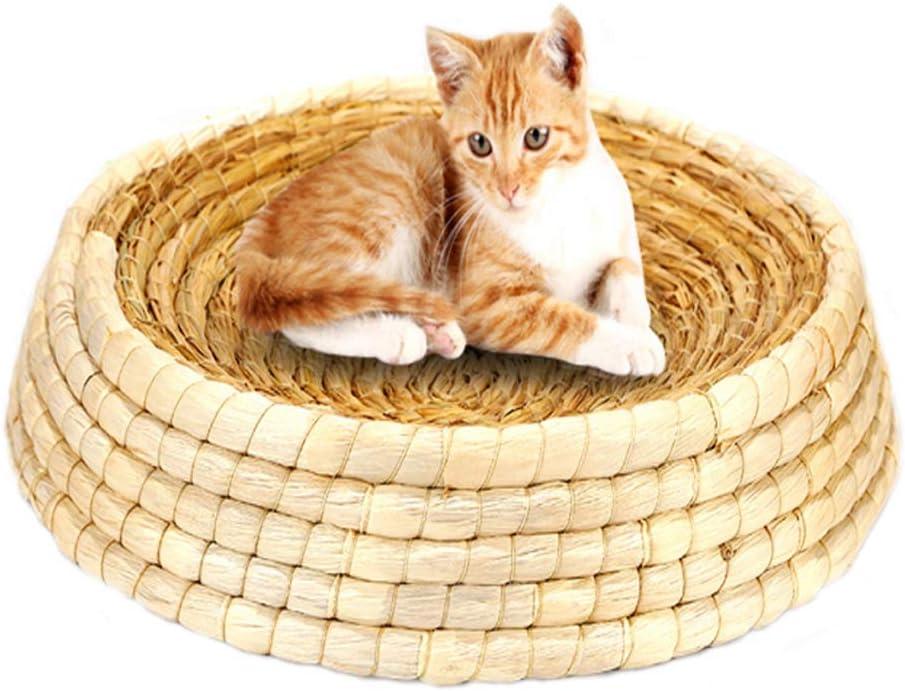 MKKSLR Cama de heno para Mascotas Tejida hámsters, Conejillos de Indias, Conejos y Gatos