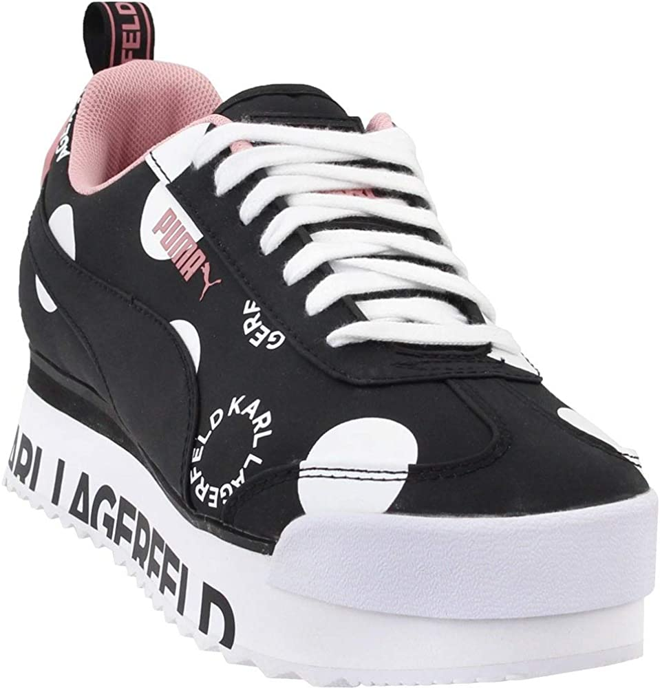 Amazon.com | PUMA Womens Roma Amor Polkadot Casual Sneakers ...
