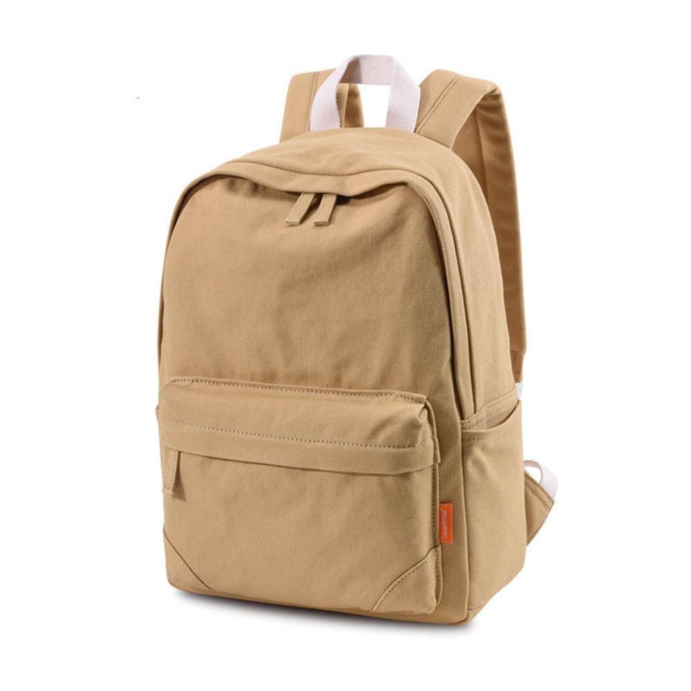 Tom Clovers Canvas Backpack Rucksack Weekender Bag Laptop Bag School Backpack