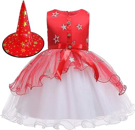 Falda De Bruja Para Niños, Vestido De Tutú De Tul, Disfraz De ...