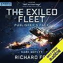 Exiled Fleet: Publisher's Pack (Books 1-2) Hörbuch von Richard Fox Gesprochen von: Mark Boyett