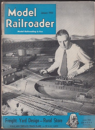MODEL RAILROADER Freight Yard Design Scale & Tinplate Track Plans SP Loco 1 1950