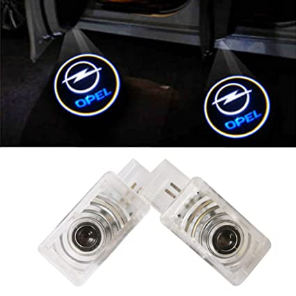 XYSTAR Coche Logo LED Proyector luces puerta, 2 PC Coche LED Logo ...