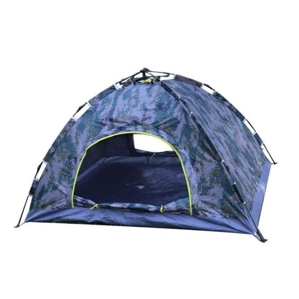 DLLzq Automatisches Instant-Strandzelt Doppelschichtiges Wasserdichtes Outdoor-UV-Campingzelt Für Gartenfischen Picknick 2Person