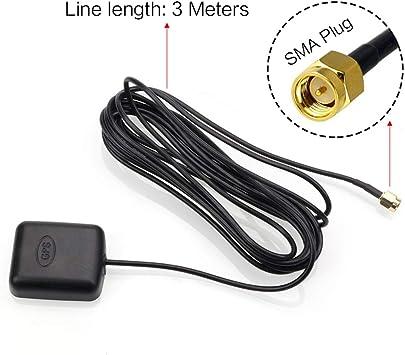 Antena GPS para Coche de 28 dB, Receptor GPS, Antena de ...