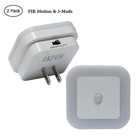 Sensor de movimiento lámpara de luz nocturna para el pasillo baño habitación de los niños