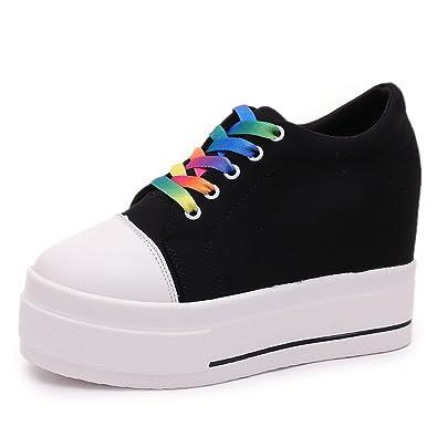 50f8235bd9c0 ACE SHOCK Hidden Heel Canvas Shoes Women