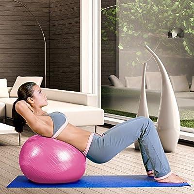 grofitness 18 inch Yoga bola de alta resistencia anti Burst pelota ...