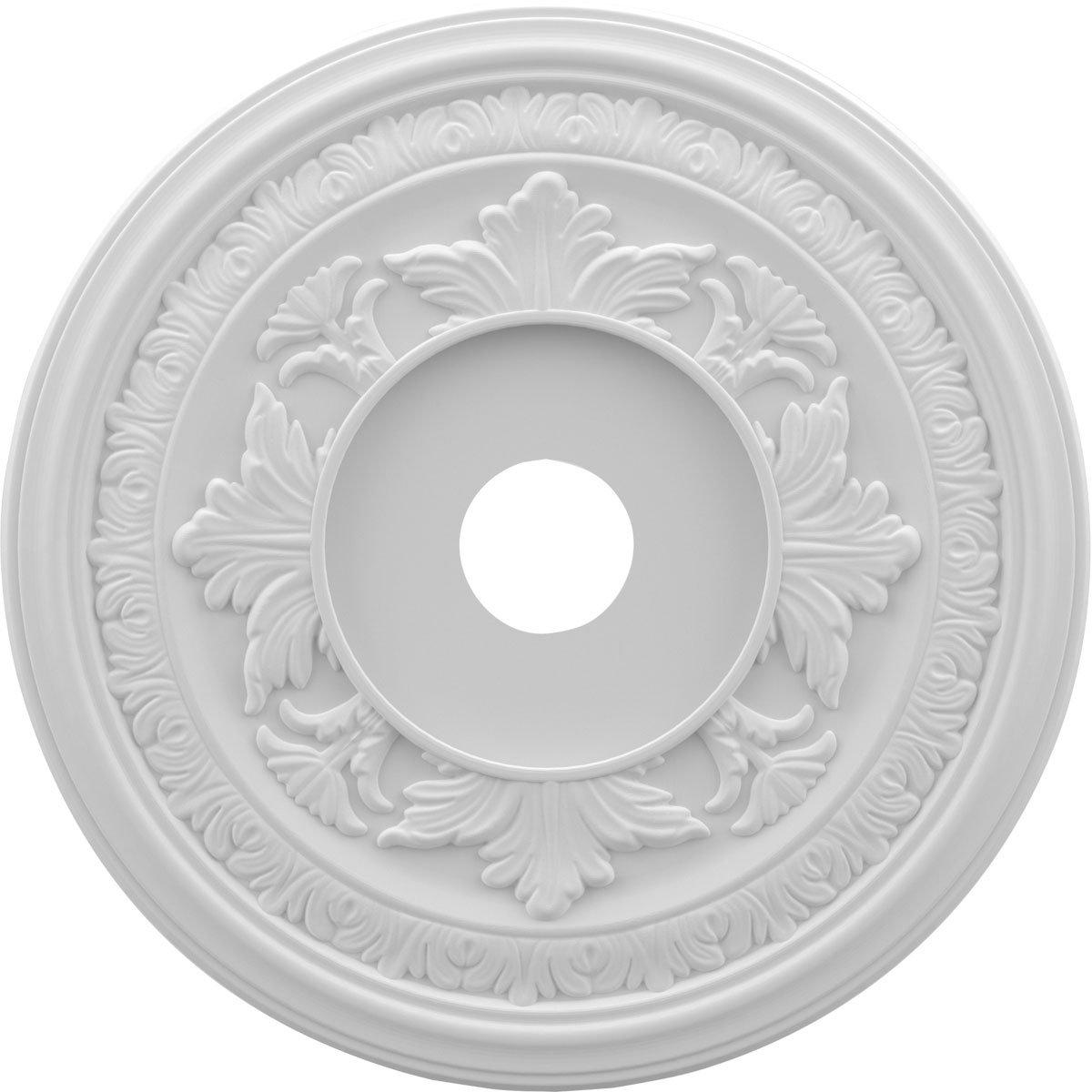 Ekena Millwork CMP22BA Baltimore Thermoformed PVC Ceiling Medallion ...