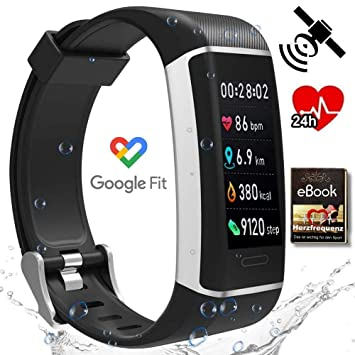 Run-GPS 2019 ritmo cardíaco rastreador de actividad física 24 ...