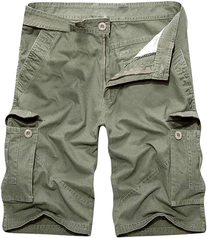 "Men`s New Lee Casual Cotton Cargo Shorts Waist Size 30/"" /& 34/"""