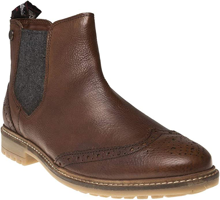 superdry jack brogue chelsea boots
