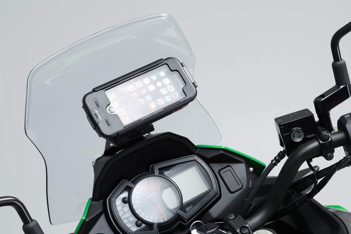 SW-Motech GPS.08.875.10000//B Support pour Navi Amovible dans Le Cockpit pour Kawasaki Versys-X300 Abs 2016 Noir
