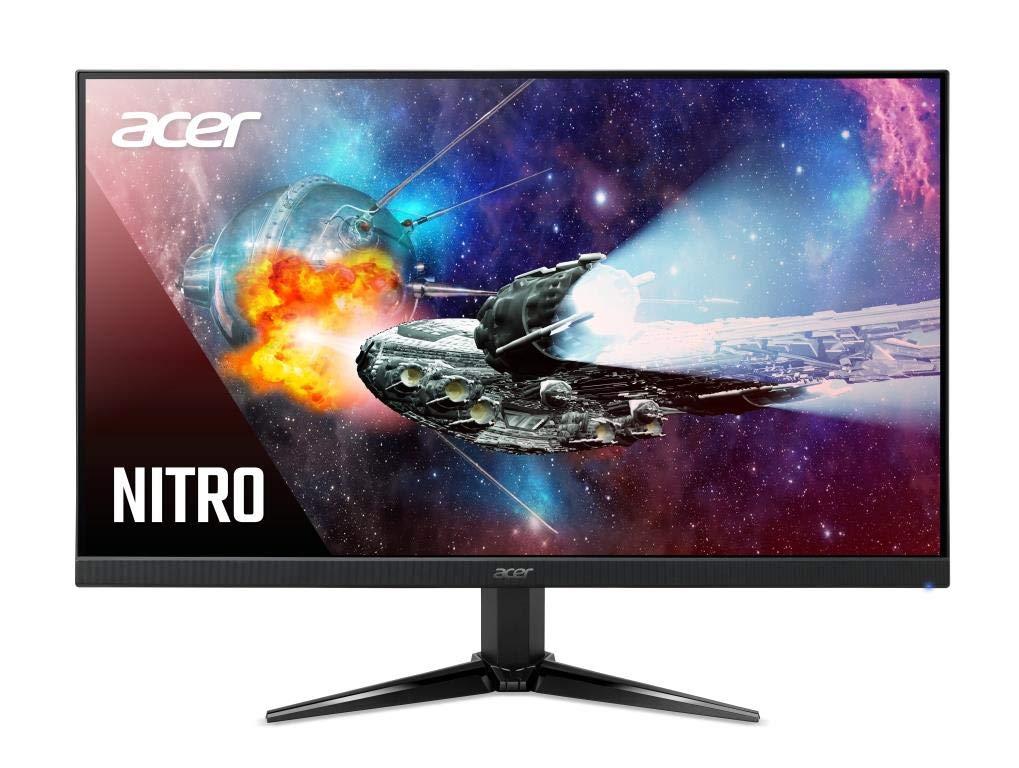 Acer Nitro QG271 27 Inch Full HD Gaming Monitor - VA Panel - 1 MS - 75 Hz - 300 Nits - AMD Free Sync - 1 X VGA 2 X HDMI (27 Inch)