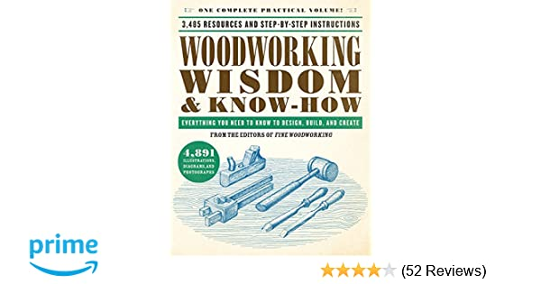 Woodworking Wisdom Know How Everything You Need To Know To Design