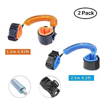 2 Pack Child Anti Lost Wrist Link Wrist Link Belt Sturdy Flexible Safe