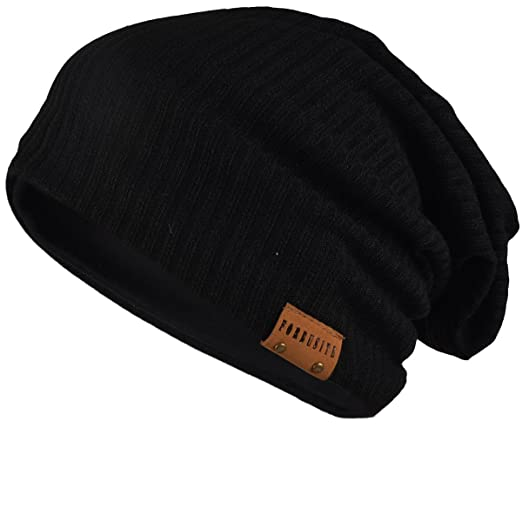 16bf7e1bc FORBUSITE Slouchy Beanie Hats for Men Winter, Summer, Striped