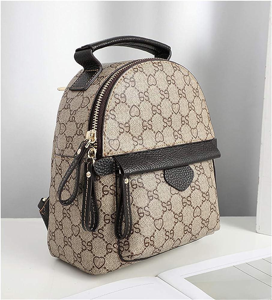 Women Backpack Black Packbag for Girls School Shoulder Bag Shoulders Wild Womens Bag Mini Bag Martino