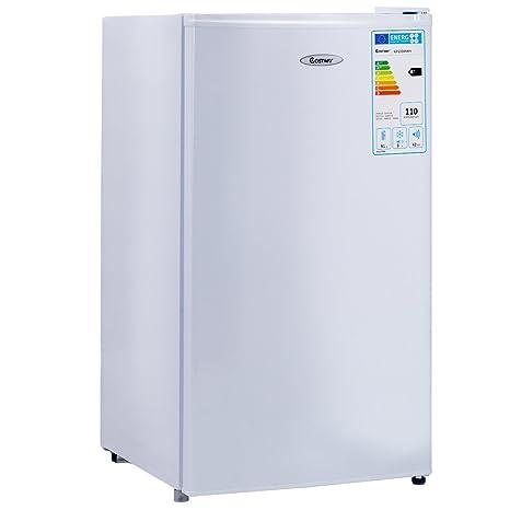 Frigorífico de GOPLUS con congelador, completamente refrigerador ...