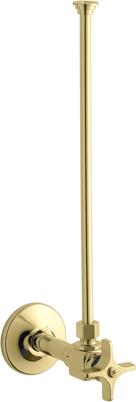 KOHLER K-7637-PB Angle Supply Vibrant Polished Brass