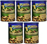 Planters Pistachio Lovers Mix, Salted, 18.5 Ounce, 5 Tubs