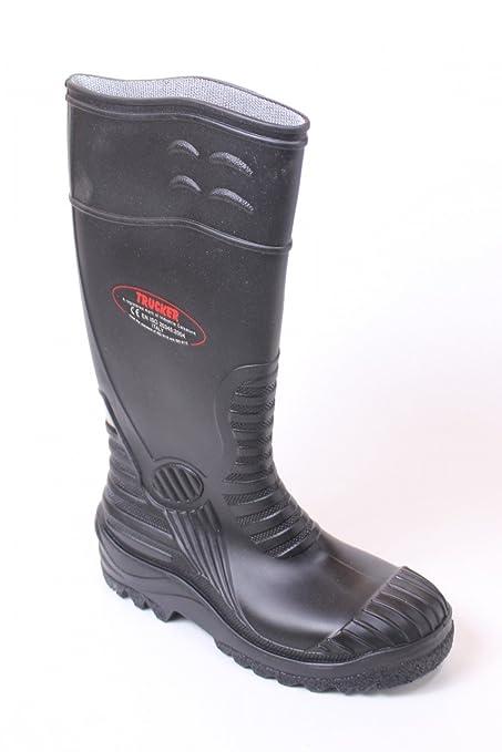 Botas de agua GORRA BÉISBOL Bora B0120 Botas de construcción Botas S5 negro Calzado de seguridad