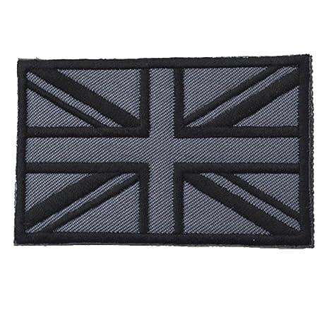 Parches para planchar, diseño de bandera británica Dainzuy: Amazon ...