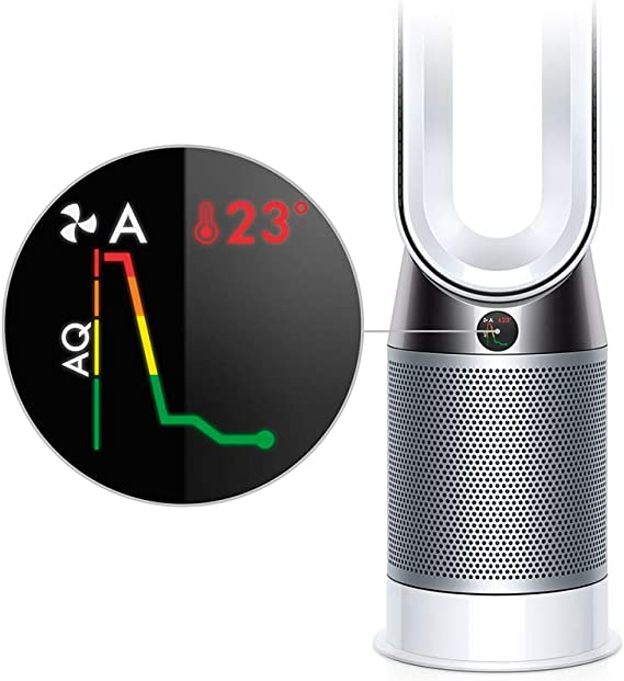 Dyson Pure Hot + Cool - Purificador de aire (1116 m³/h, 63,8 dB, 9 ...