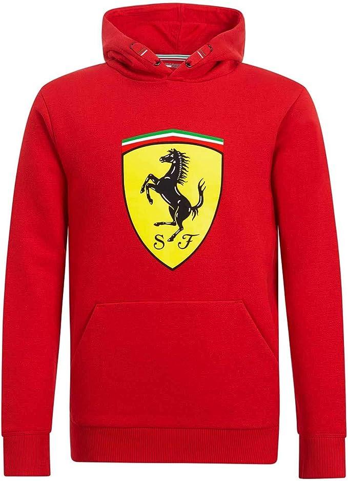 Branded Sports Merchandising B V Scuderia Ferrari F1 Kinder Kapuzenpullover Rot Bekleidung