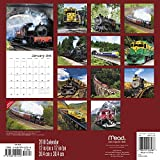 2018 Trains Wall Calendar (Mead)