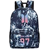 Fortnite Backpack College School Bookbag Anti Theft Luminous Travel Laptop Bag